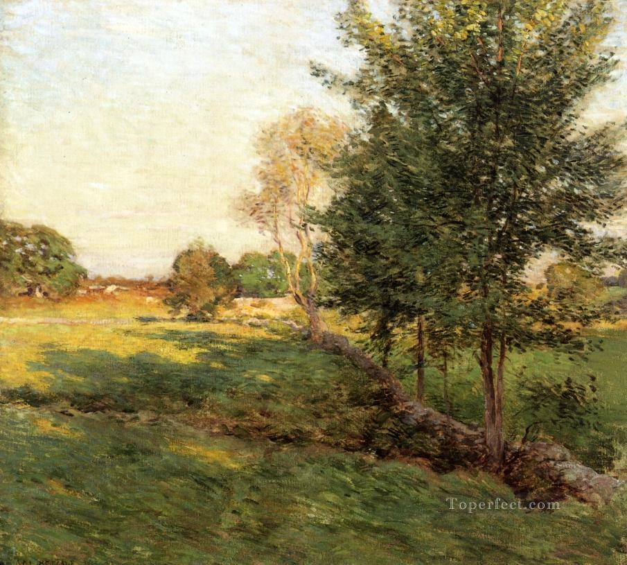 3 Lengthening Shadows scenery Willard Leroy Metcalf