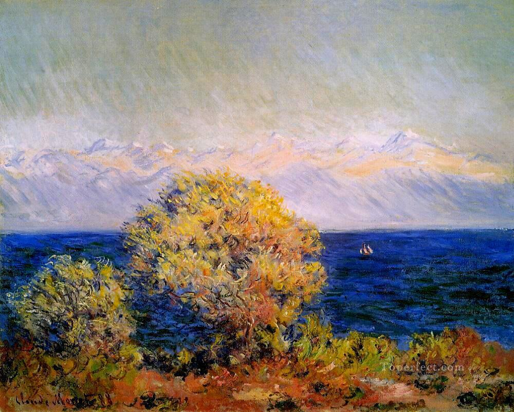 2 At Cap d Antibes Mistral Wind Claude Monet