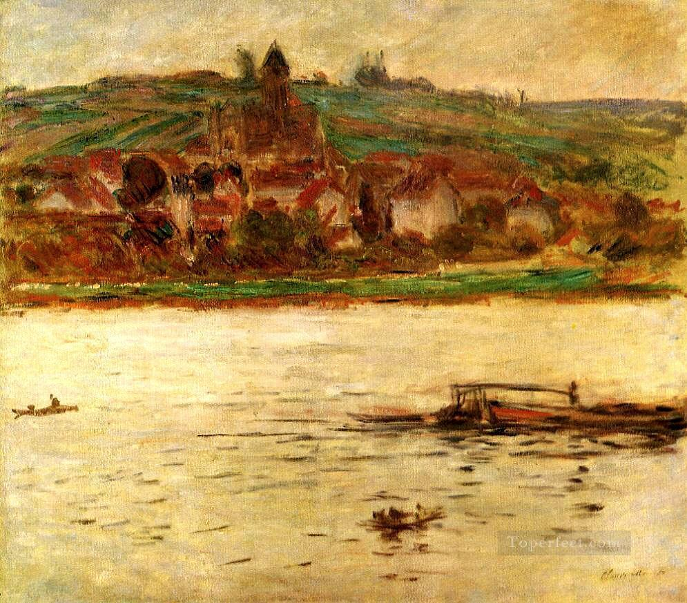 2 Barge on the Seine at Vertheuil Claude Monet