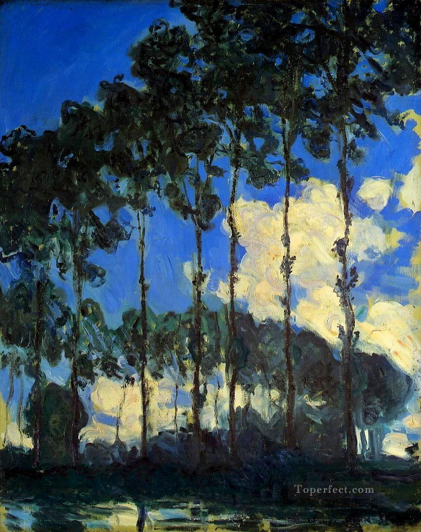2 Poplars on the Banks of the Epte Claude Monet