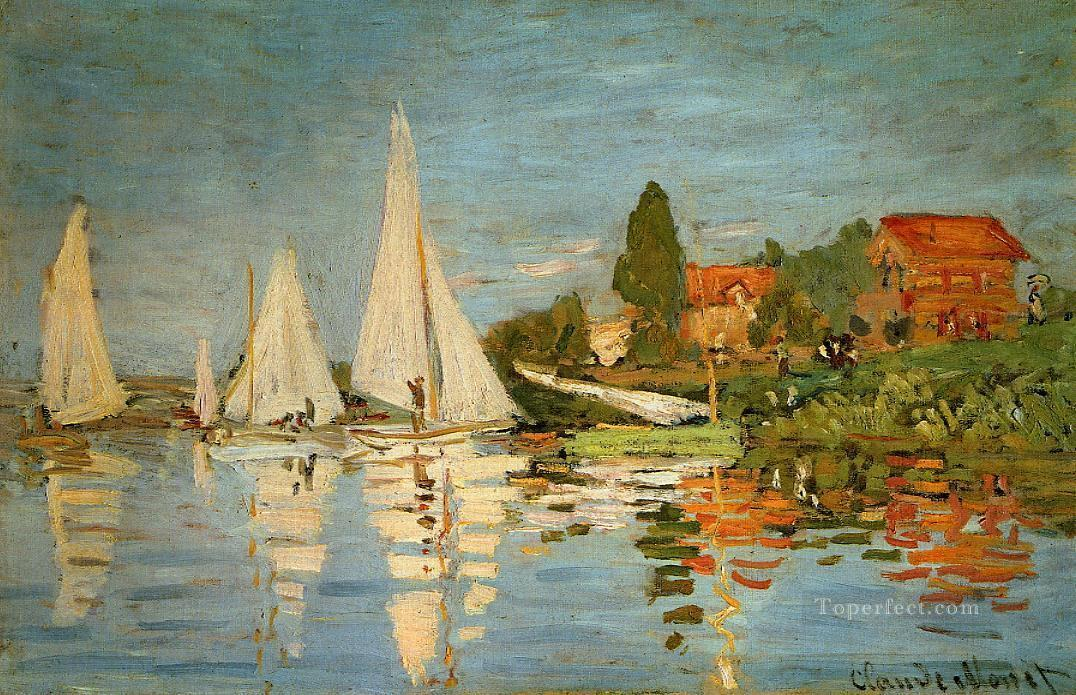 2 Regatta at Argenteuil Claude Monet