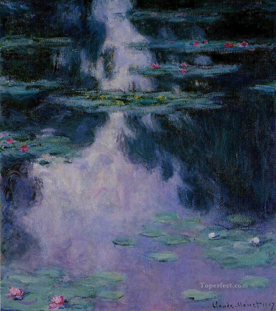 2 Water Lilies IV Claude Monet