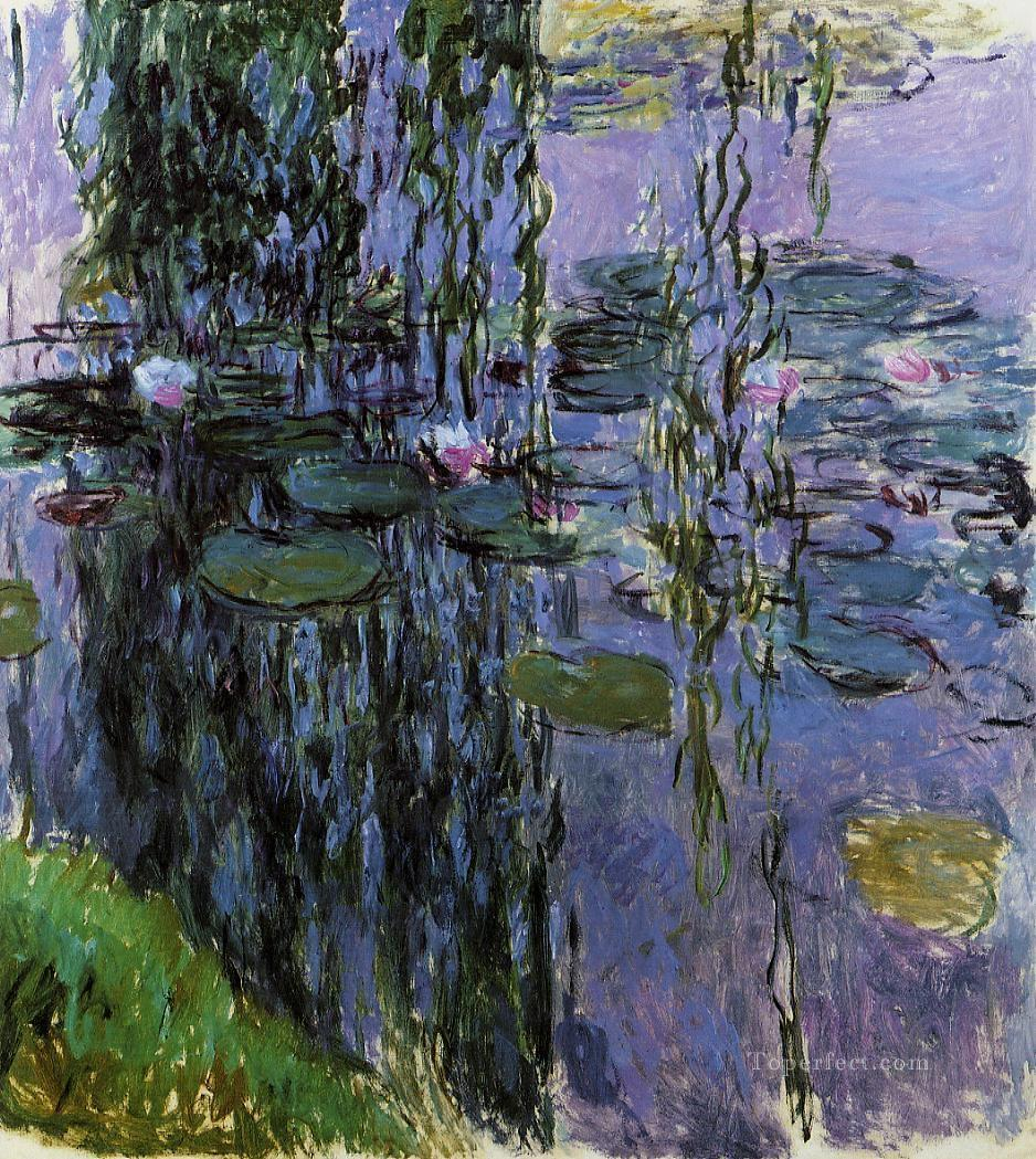2 Water Lilies XV Claude Monet