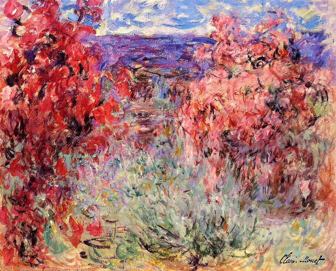 3 Flowering Trees near the Coast Claude Monetcirca