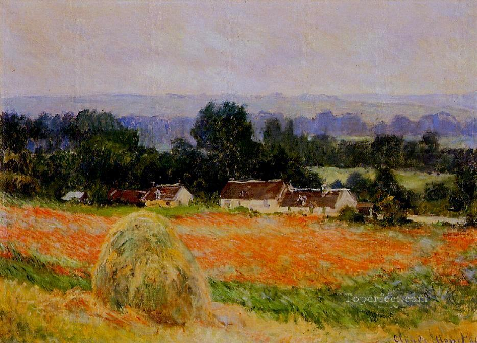 3 Haystack at Giverny Claude Monet
