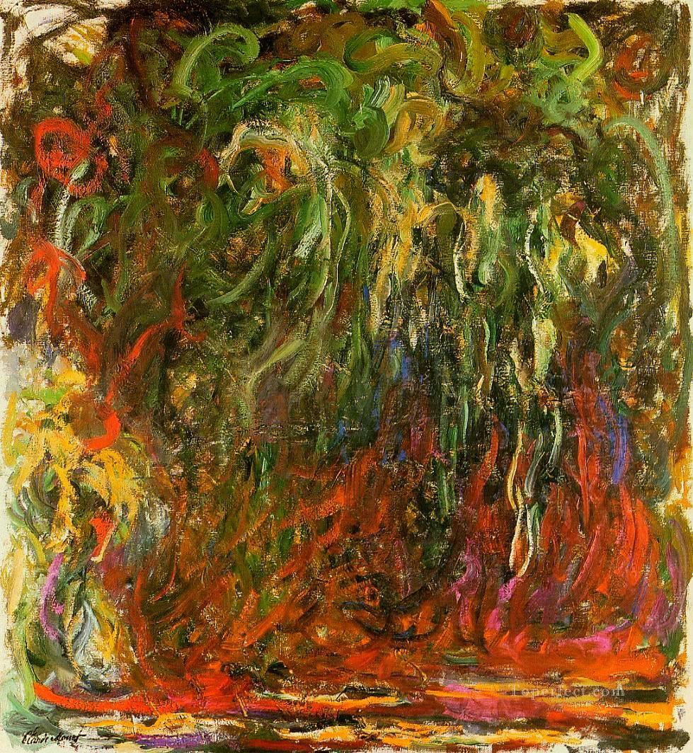 3 Weeping Willow Giverny Claude Monet