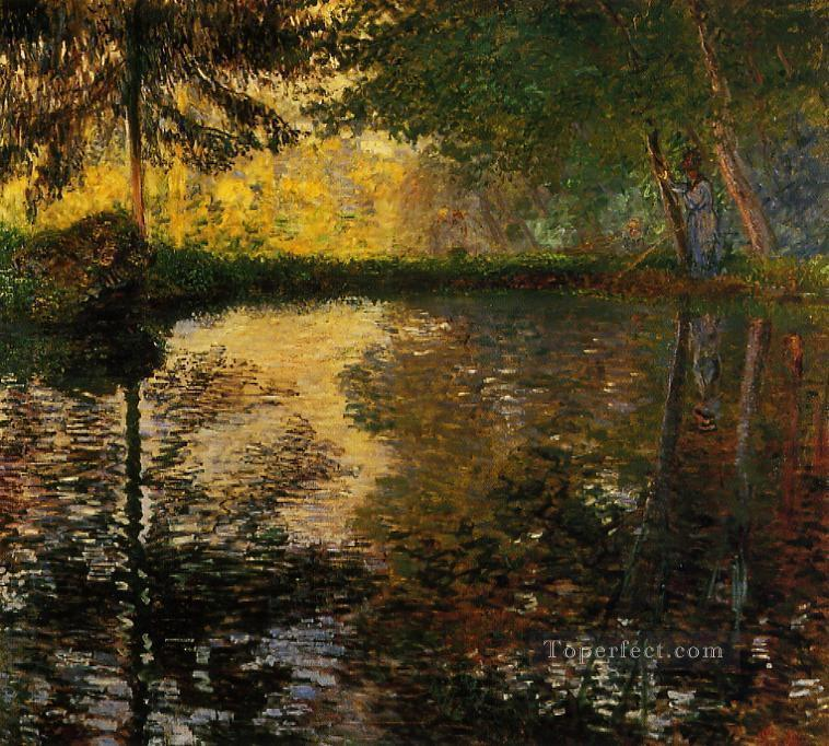 4 The Pond at Montgeron II Claude Monet