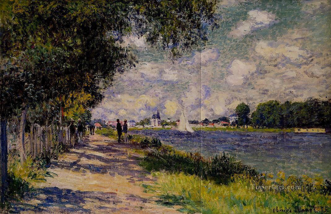 4 The Seine at Argenteuil Claude Monet