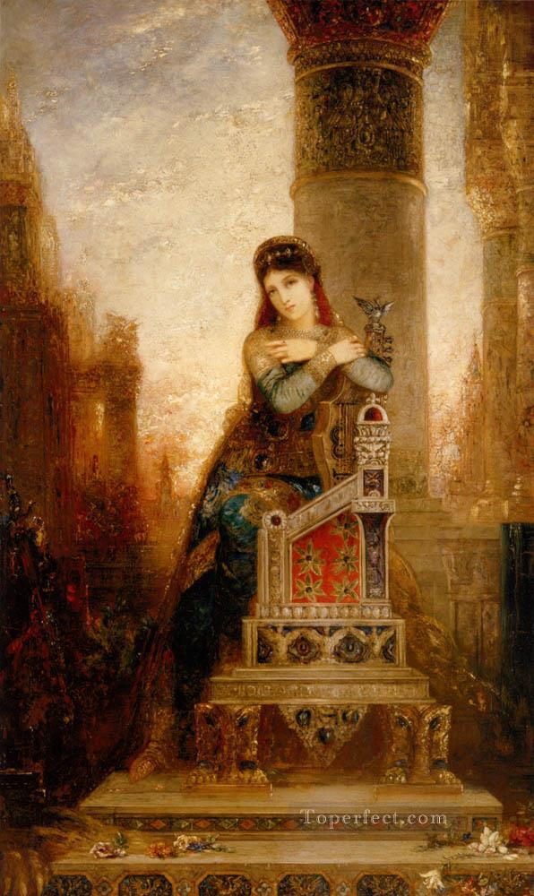 4 Desdemone Symbolism biblical mythological Gustave Moreau