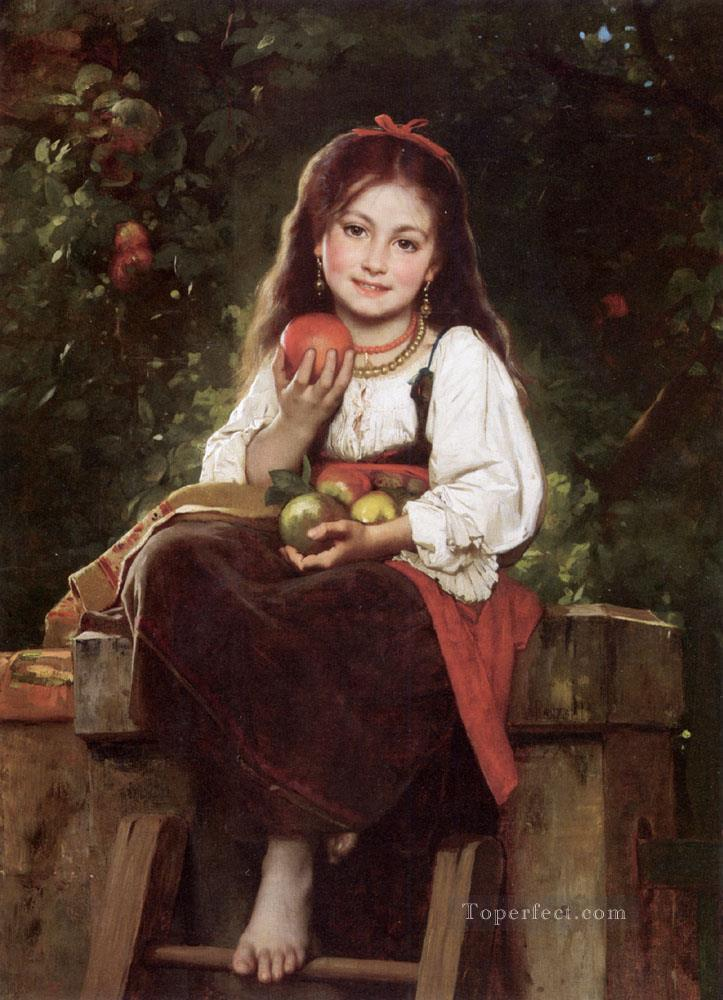 4 The Apple Picker Leon Bazile Perrault