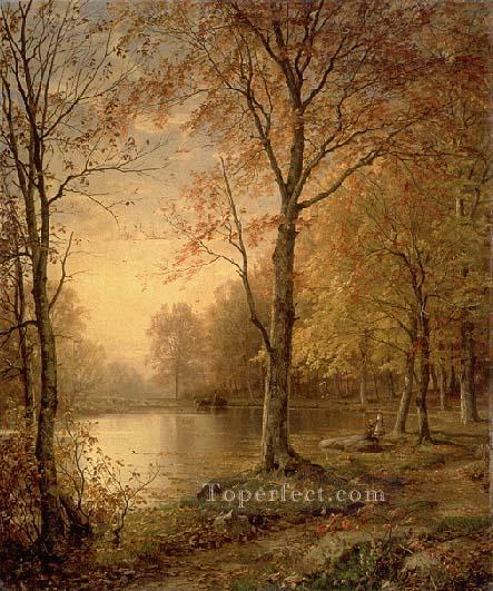 3 Indian Summer scenery William Trost Richards