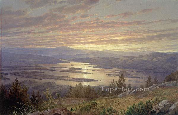 3 Lake Squam from Red Hill MMA scenery William Trost Richards