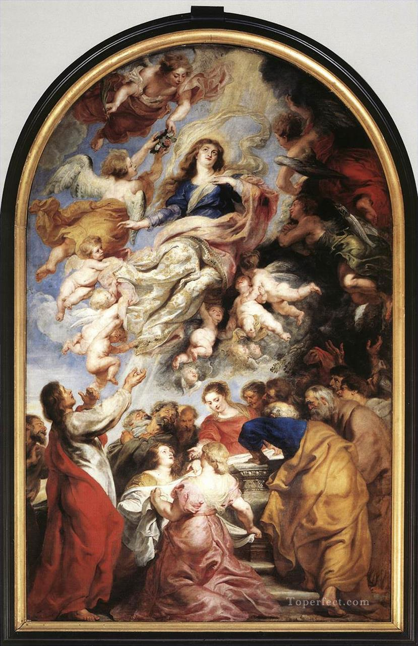 0 Assumption of the Virgin 1626 Baroque Peter Paul Rubens