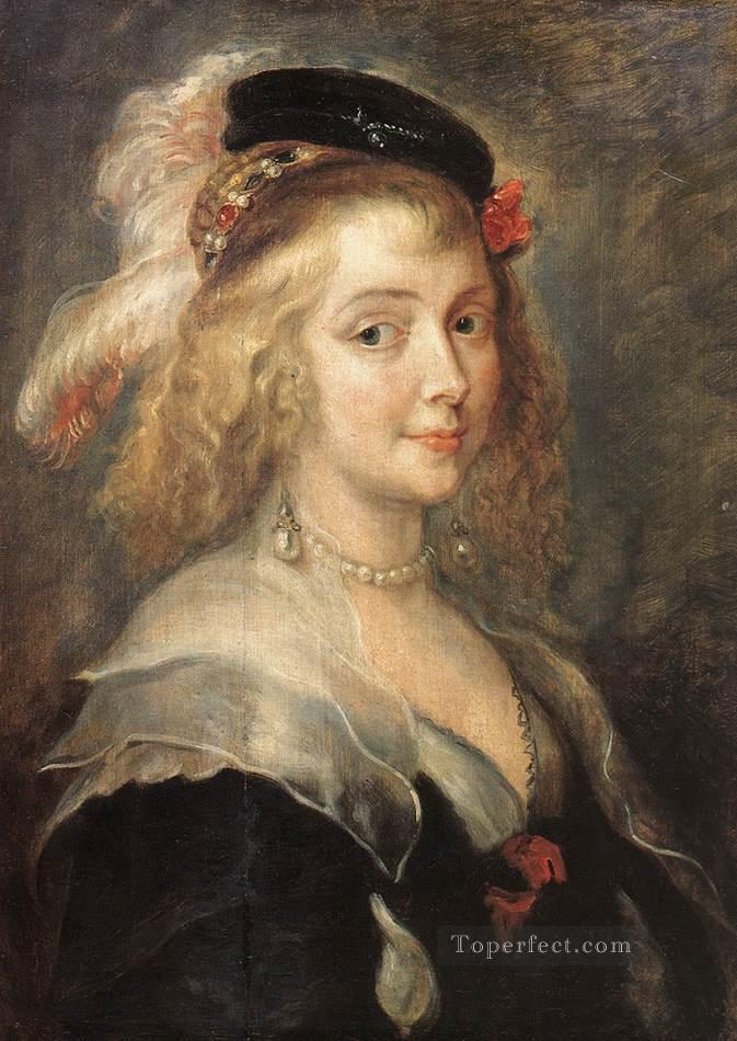 4 Portrait of Helena Fourment Baroque Peter Paul Rubens