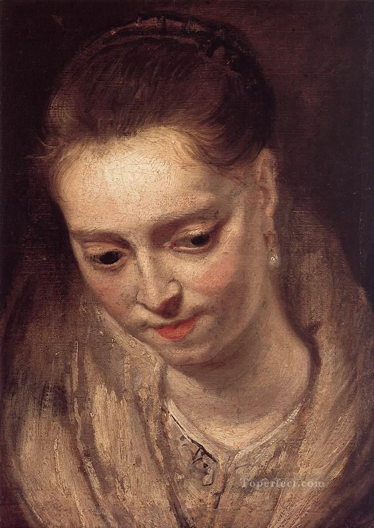 4 Portrait of a Woman Baroque Peter Paul Rubens
