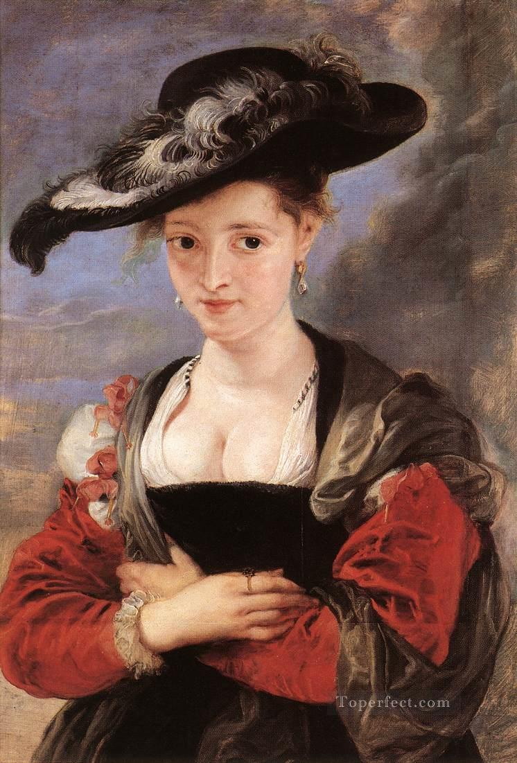4 The Straw Hat Baroque Peter Paul Rubens