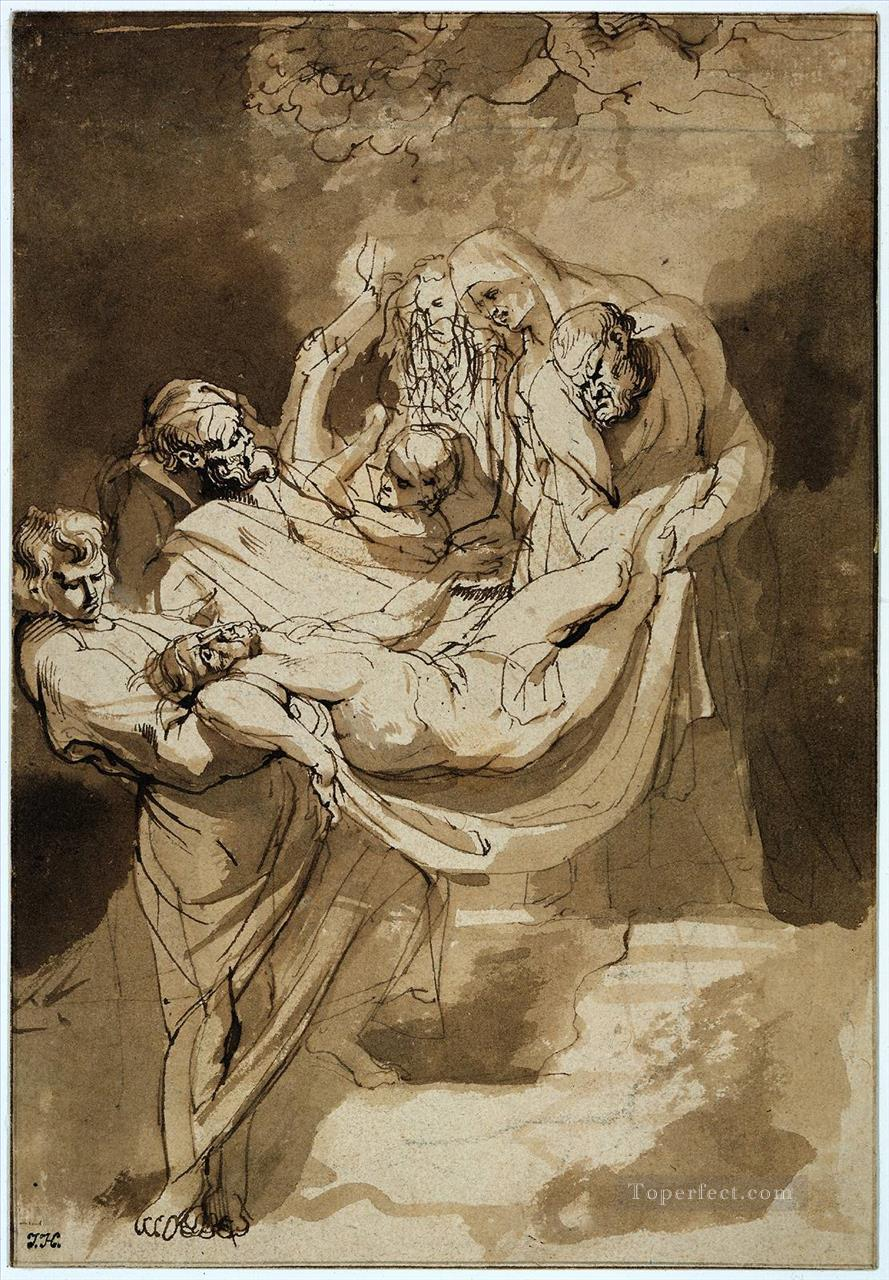 5 Entombment 1615 Baroque Peter Paul Rubens