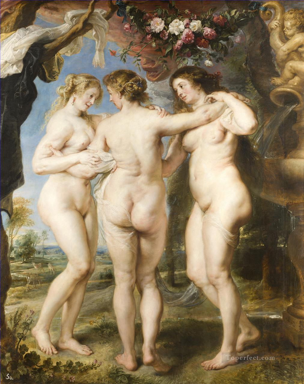 6 The Three Graces Baroque Peter Paul Rubens