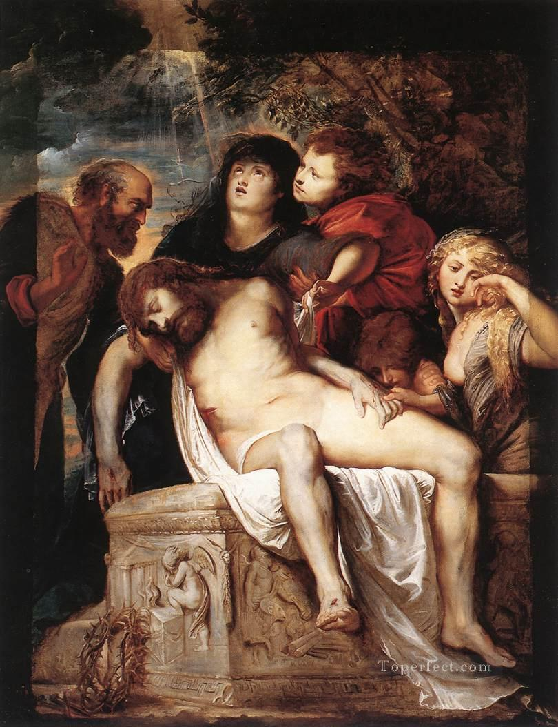 7 The Deposition Baroque Peter Paul Rubens