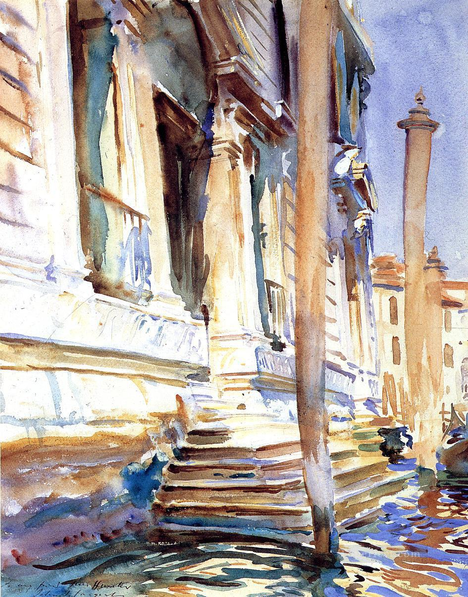 2 Doorway of a Venetian Palace John Singer Sargent