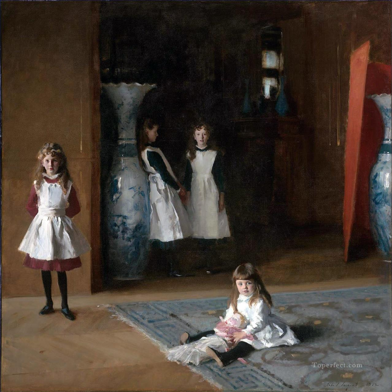 5 The Daughters of Edward Darley Boit John Singer Sargent