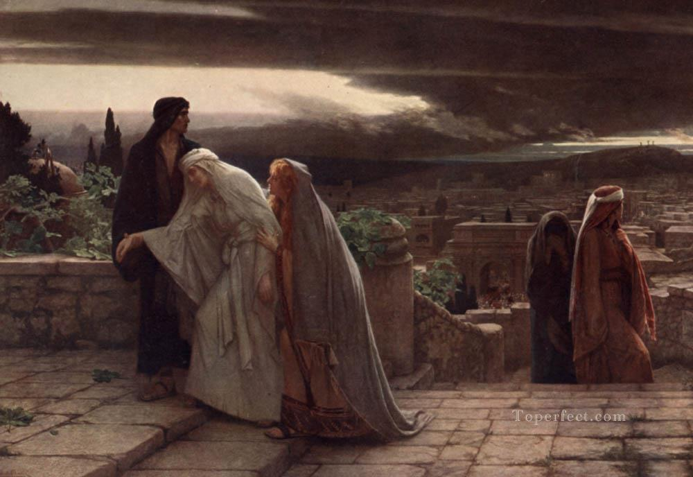 6 Return from Calvary Herbert Gustave Schmalz
