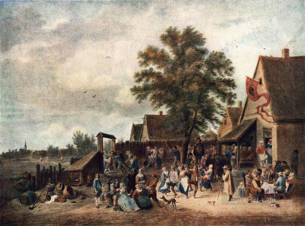 0 The Village Feast David Teniers the Younger