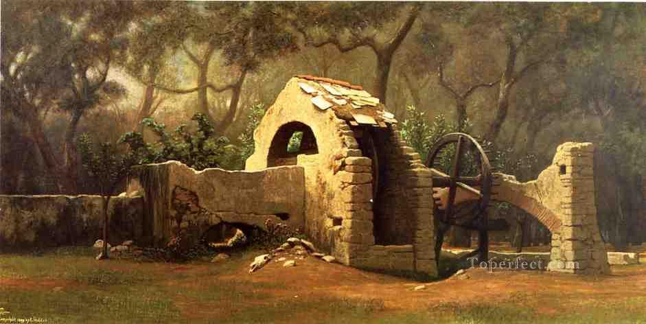 3 The Old Well Bordighera symbolism Elihu Vedder