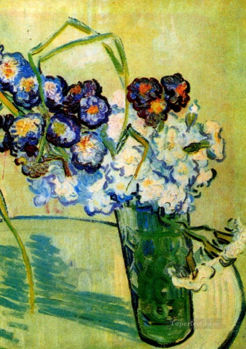 3 Still Life Glass with Carnations Vincent van Gogh