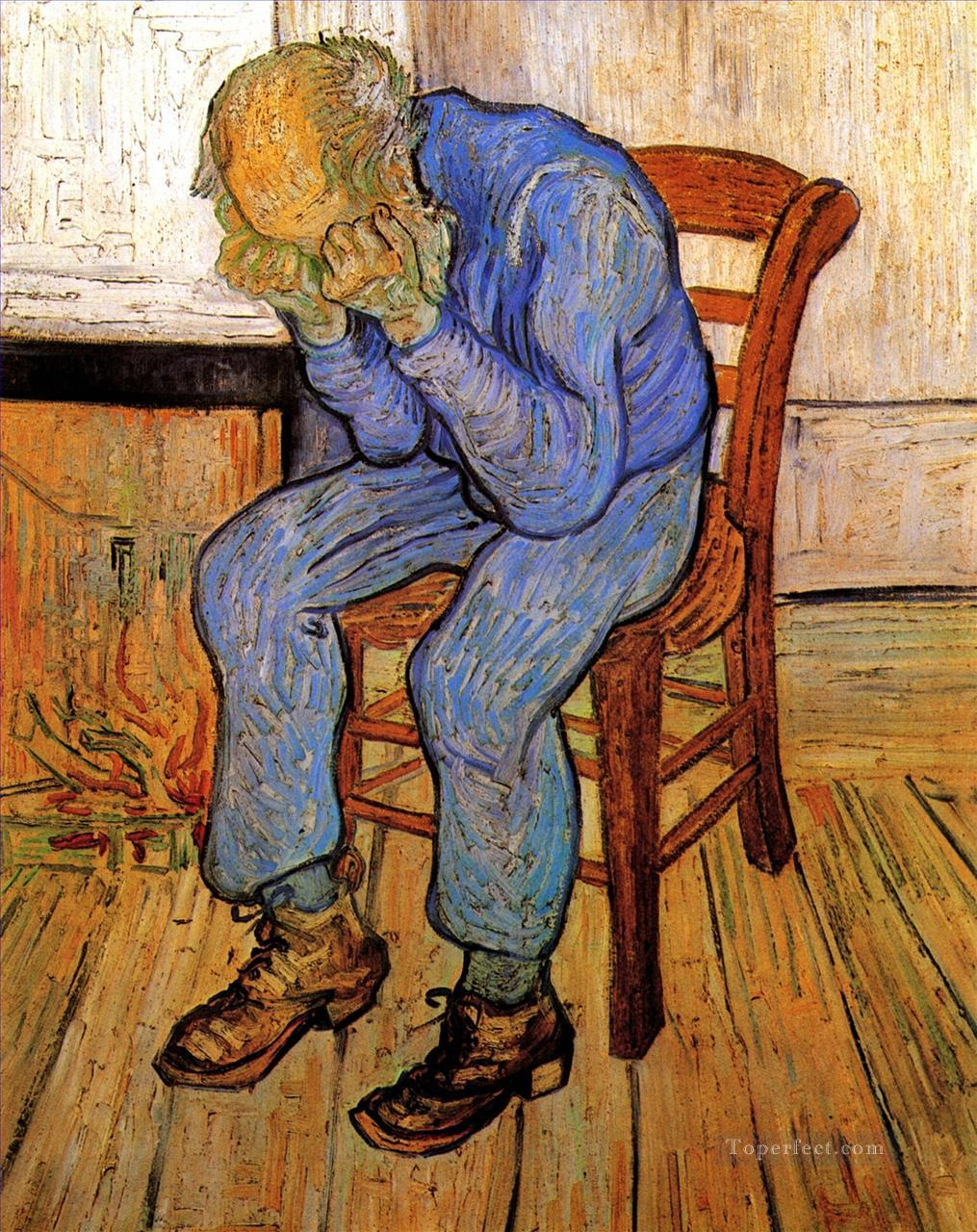 4 Old Man in Sorrow On the Threshold of Eternity Vincent van Gogh
