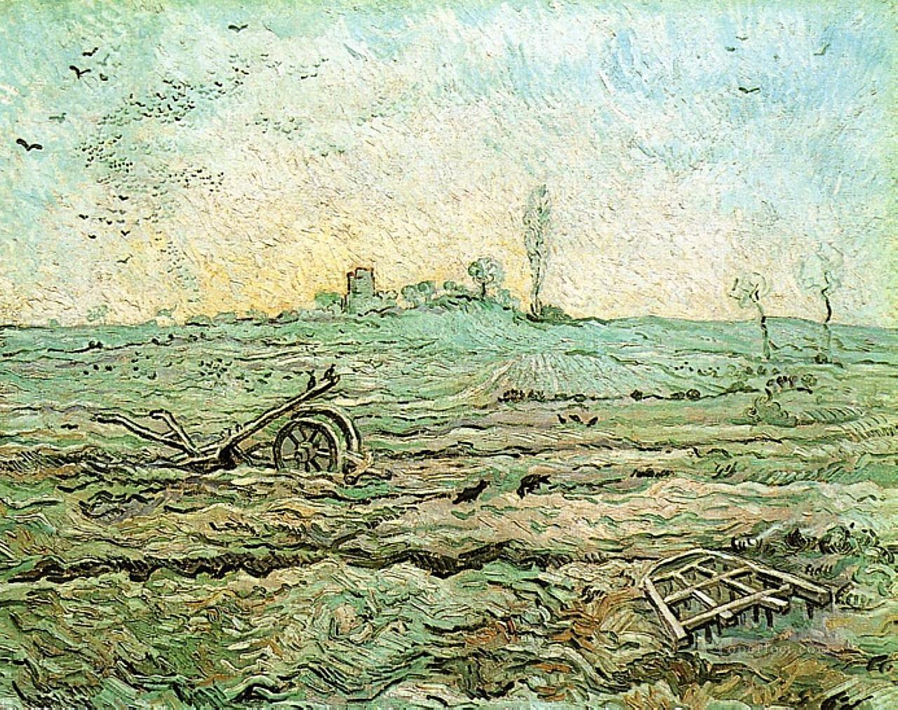 4 The Plough and the Harrow after Millet Vincent van Gogh
