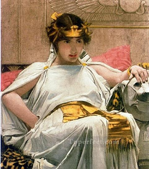 4 Cleopatra JW Greek female John William Waterhouse