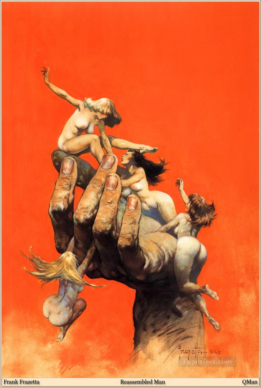 5 Frank Frazetta Reassembled Man Fantasy