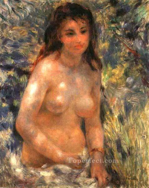 4 nude in the sunlight Pierre Auguste Renoir