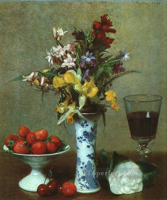 4 Still Life The Engagement 1869 flower painter Henri Fantin Latour